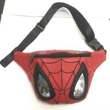 Spider-Man Deadpool Leather pu Belt Waist Bag Holder Bag Men Women Fanny Bags