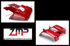 NEW HONDA TRX 350 4X4 86 - 89 PLASTIC RED FRONT AND REAR FENDERS SET TRX350