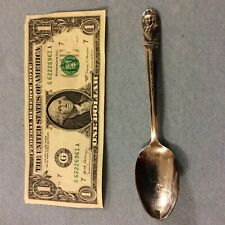 Vintage Presidential Spoon-John Adams-Silver Plate Wm Rogers Mfg Co