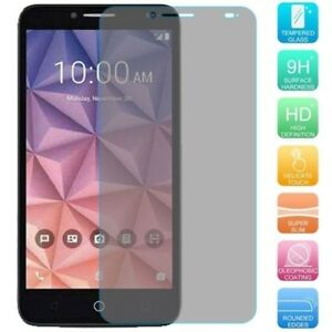 Premium Thin [Real Tempered Glass] Screen Protector for Alcatel TRU / Stellar