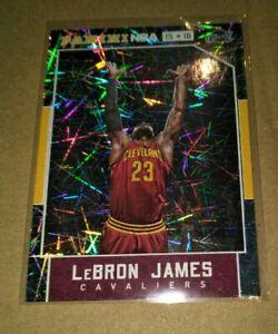 2015-16 Panini NBA Hoops Hyper Insert Card - LeBron James Cleveland Cavaliers