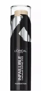 L'Oreal Paris Infallible Shaping Stick Foundation 160 Sand 9g - Brand New