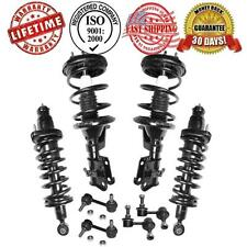 Complete Strut & Spring Assembly + Sway Bar Stabilizer Links 2001 2002 Civic