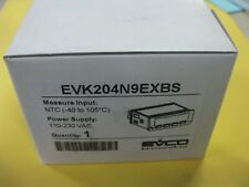 Evco Evk204N9Exbs Digital Temperature Controller Refrigeration