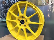4x Autec Alufelgen AUTEC Yellow/Gelb 15 Zoll Renault Kangoo,Ford Focus,C-Max,
