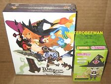 PS4 The Witch and the Hundred Knight: Revival Limited Edition New Sealed +Figure