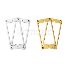 4pcs Flat Metal Humbucker Pickup Mounting Rings Chrome Gold