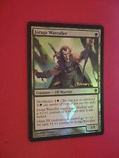 MTG CARTE LAUNCH JORAGA WARCALLER (ENGLISH MENEUR DE GUERRE DE JORAGA) NM FOIL