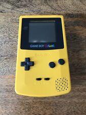 New listing Nintendo Gameboy Game Boy Color Yellow Dandelion Handheld System