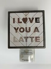 Bath & Body Works I Love You A Latte Wallflowers Plug In