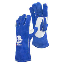 Leather Forge Mig Welding Gloves Heat Fire Resistant Welders Gloves 14