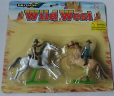 Britains Wild West - 17551 Cow Boys with Horses