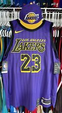 New listing Authentic Lebron James Los Angeles Lakers Jersey 52 XL NEW Nike Elite NBA M&N