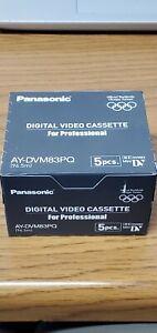 Panasonic - DVC for Professional - 5 Cassettes
