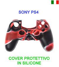 CUSTODIA COVER SILICONE CONTROLLER JOYSTICK SONY PLAYSTATION 4 PS4 PROTEZIONE