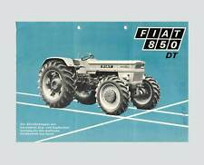 FIAT 850 DT Schlepper TraktorOrginal 1970