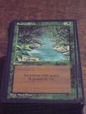 MTG Magic SOURCE DE VIE 3rd French Black RARE top condition