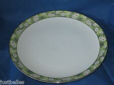 Mikasa MARIANNE 5876 Dinner Plate  white flowers *have more items to this set*