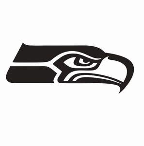 Seattle Seahawks NFL Football Vinyl Die Cut Car Decal Sticker - FREE SHIPPING