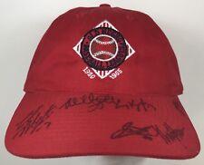 Old Negro Baseball Leagues Hat 1920 1955 Vintage Signatures Red Cap Snapback MLB