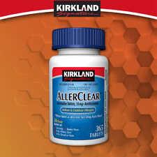 Kirkland Aller-Clear Non-Drowsy Allergy Loratadine 10mg 365 Tablets - Fresh!