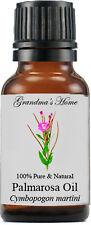 Palmarosa (Rose Geranium) Essential Oil - 15 mL - 100% Pure and Natural