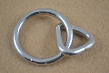 Loop and Ring - Nickel Plated - Pack of 6 (B52)