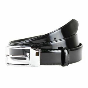 Batsanis Diesel - Men's Black Patent Leather Belt