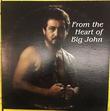 BIG JOHN EVANS From The Heart Of Big John Starr Records Private Press VG+ LP