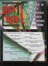 GIGA BYTE settembre 1994 numero zero 0 gigabite rivista videogiochi bite