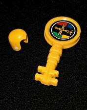 Vintage Voltron • HELMET & KEY - Hunk Yellow Lion • 1984 Panosh Place