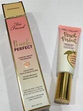 Too Faced 'Peach Perfect' comfort matte liquid foundation 48ml #Shortbread BNWB