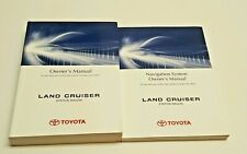 2014 TOYOTA LAND CRUISER 200 WITH NAVIGATION SYSTEM OWNERS MANUAL OFF ROAD OEM