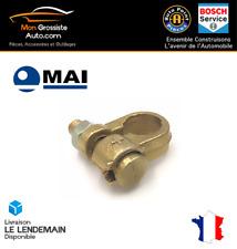 Cosse de batterie voiture + diamètre 10 mm simple serrage section 25-35mm