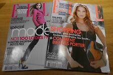 Lot 2 magazines ELLE FRANCE - SPECIAL MODE - 2007