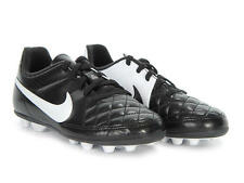 Nike Outdoor Soccer Cleats Jr. Tiempo Rio II Black/White  Childs Size 2