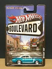 Hot Wheels 68 Olds 442 2012 Boulevard Real Riders Aquamarine 1:64 8+