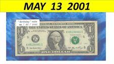 ~~ Birthday note ~~ == May 13, 2001 ==