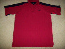 Pre-Owned Under Armour Men'S Red Golf/Polo Shirt Size Xl