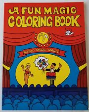 Fun Magic Coloring Book, Pocket Size, Easy, Shipping Included (1111)