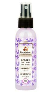 Poodeloo Before You Go Toilet Spray Bathroom Freshner Lavander fresh 60ml 2oz100
