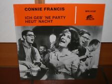 """12"" - CONNIE FRANCIS - Ich geb` `ne Party heut` Nacht - BEAR FAMILY RECORDS"