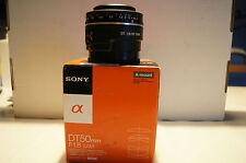Objectif Sony DT 50 f1,8