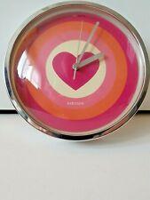Karlsson Wall Clock Vintage Pink Design