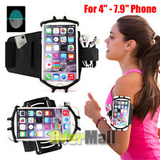 Rotating Armband Sports Gym Running Jogging Exercise Arm Band Phone Holder Bag