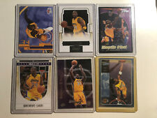 Kobe Bryant Shaquille Oneal Los Angeles Lakers Basketball Card Lot