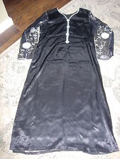 Women's 1 pieces Black & White Only  Kameez  Used Size: M/L