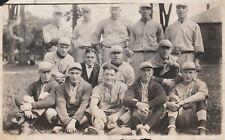 RARE  -  Original Baseball Team Photo - Oswego NY area  ca 1915