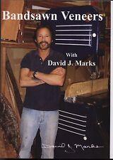 David J. Marks Bandsawn Veneers  DVD Woodworking Instruction DIY  video
