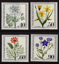 Germany Berlin 1980 Wild Flowers SG B601/4 MNH